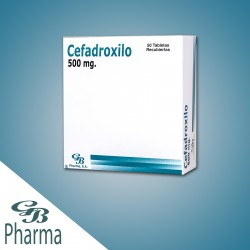 CEFADROXIL GB PHARMA Tabletas