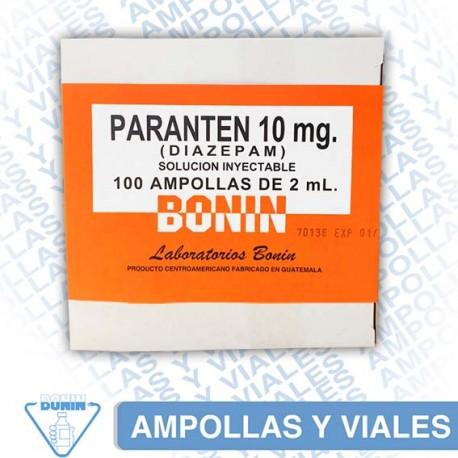 PARANTEN® Tabletas Solución inyectable